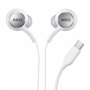 Type C AKG Headset White for Note 10 Plus