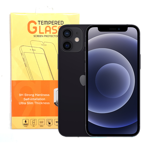 iPhone 12 5.4 tempered Glass 2
