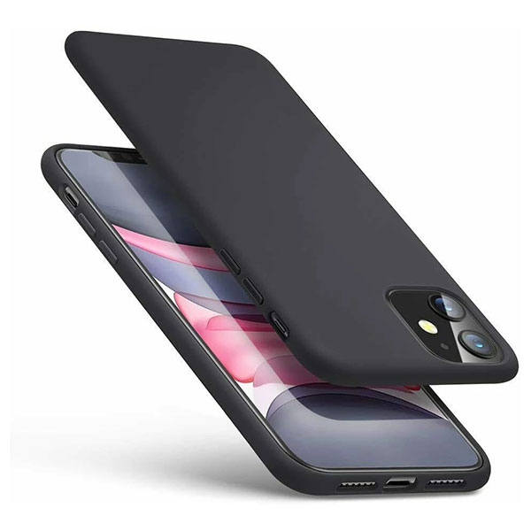 iPhone 11 Soft Protective Case Black mobile