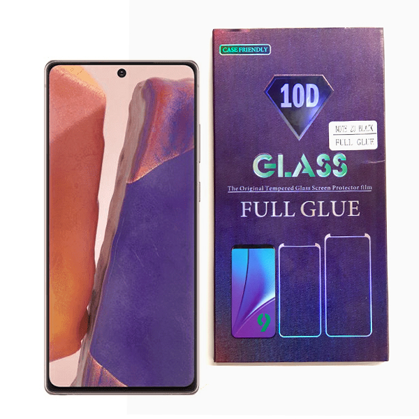 Samsung Galaxy Note 20 Full Glue 10D Tempered Glass