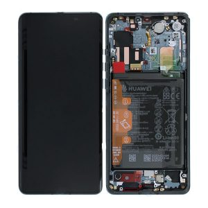 Genuine Huawei P30 Pro LCD Screen and Digitizer Plus Battery Mystic Blue