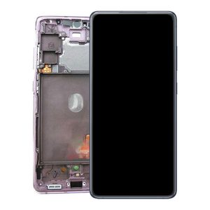 Genuine Samsung Galaxy S20 FE 5G G781 Super Amoled Display Screen Touch Cloud Lavender/ Colour : Cloud Lavender/ Delivered in EU and UK.