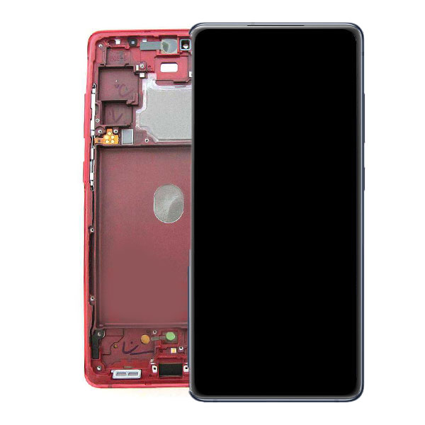 Genuine Samsung Galaxy S20 FE 4G G780 Super Amoled Display Screen Touch Cloud Red/ Colour : Cloud Red/ Delivered in EU and UK.