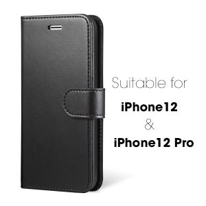 iPhone 12 & 12 Pro 6.1 inch Wallet Flip Case