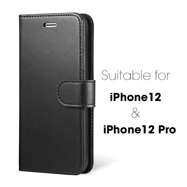 iPhone 12 & 12 Pro 6.1 inch Wallet Flip Case