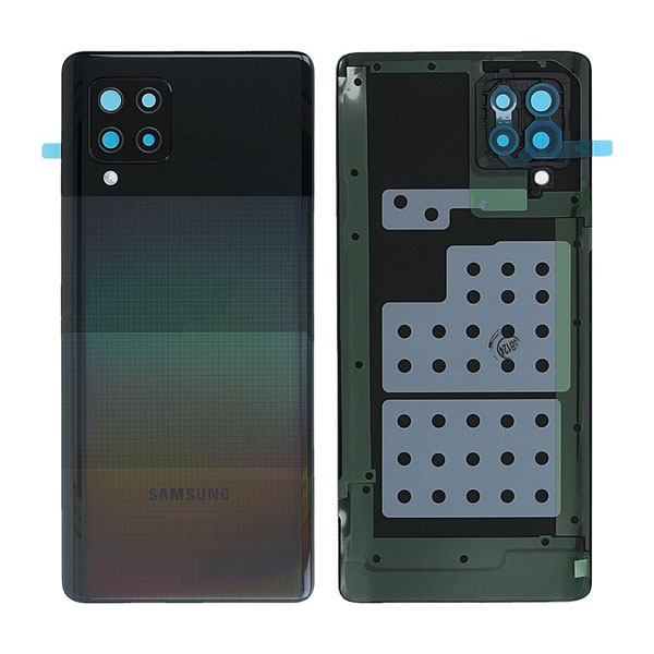 Genuine Samsung Galaxy A42 5G A426 Battery Back Cover Black | Part Number: GH82-24378A | Colour : Black | Phoneparts |