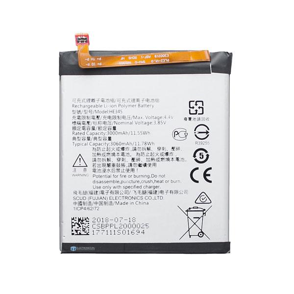 Brand New Nokia 6.1 HE345 Internal Battery - Phoneparts