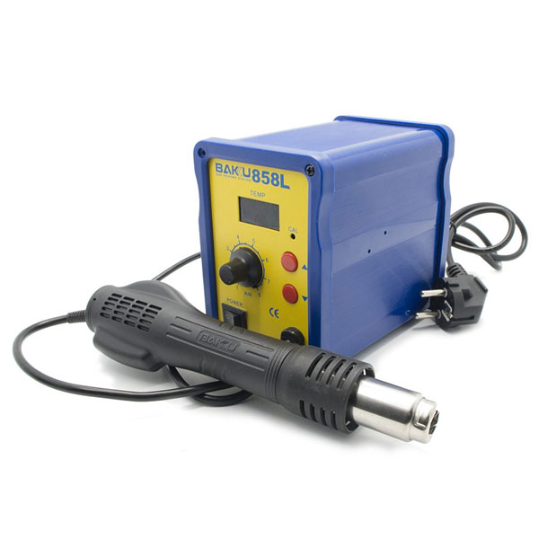 Baku Rework Station Heat Gun Phoneparts | Part Number : BK-858L | Delivered in EU UK and rest of the world | Phoneparts |