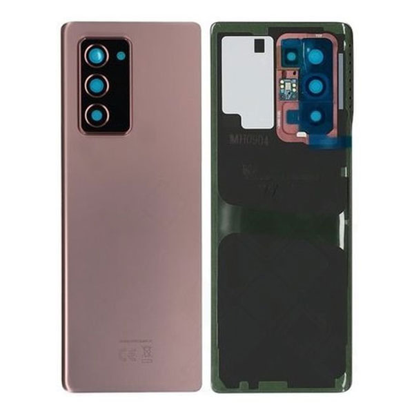Genuine Samsung Galaxy Z Fold 2 5G Battery Back Cover Mystic Bronze | Part Number: GH82-23688B| Delivered in EU UK and rest of the world |