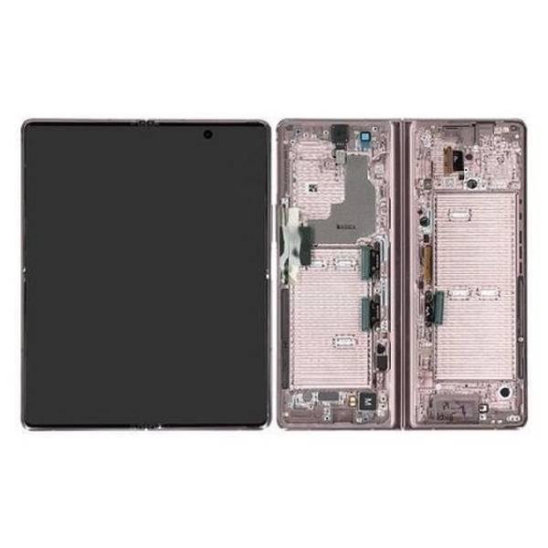 Genuine Samsung Galaxy Z Fold 2 5G Foldable Dynamic Amoled Display Mystic Bronze Blue Hinge | Part Number: GH82-24297D| Price: £443.99 |