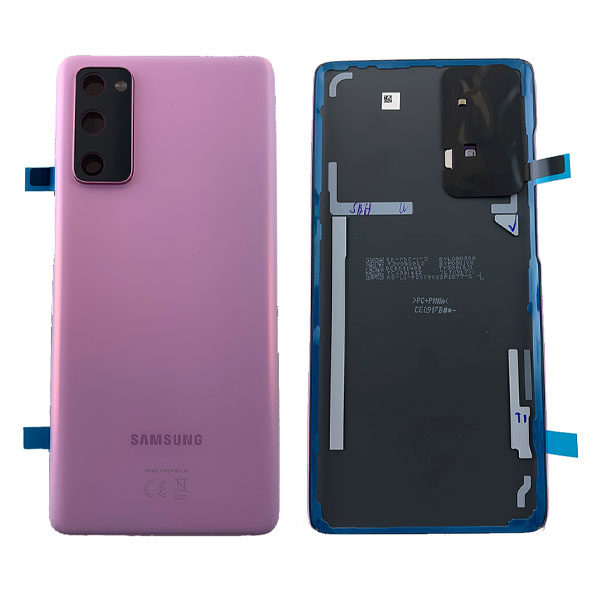 Genuine Samsung Galaxy S20 FE 4G Battery Back Cover Cloud Lavender   Part Number : GH82-24263C   Delivered in EU UK and rest of the world.