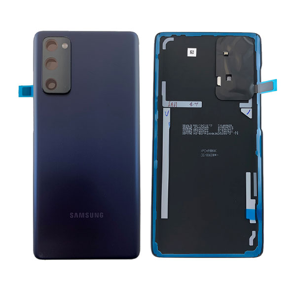 Genuine Samsung Galaxy S20 FE 4G Battery Back Cover Cloud Navy | Part Number : GH82-24263A | Delivered in EU UK and rest of the world.