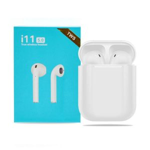 i11 5.0 True Wireless Earbuds Bluetooth Earphone | Colour : White | Delivered in EU UK and rest of the world |