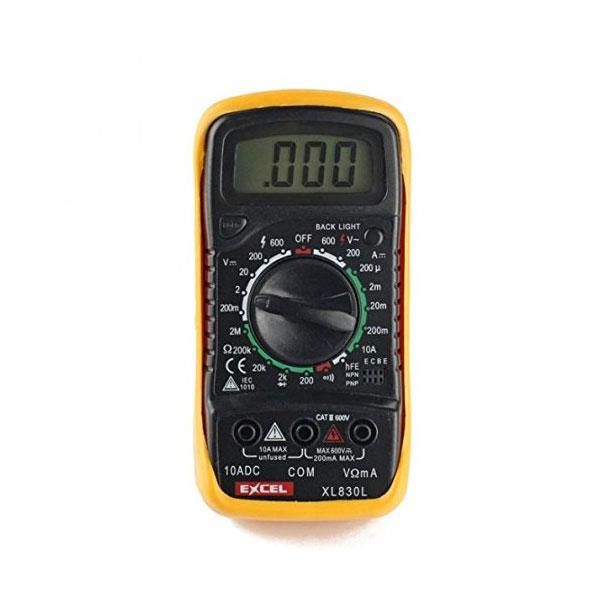 Excel XL830L Volt Testing LCD Digital Multimeter Multi-Tester | Part Number: XL830L| Delivered in EU UK and rest of the world |