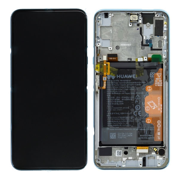 Genuine Huawei P Smart Pro LCD Display Plus Battery Breathing Crystal   Part Number: 02353HRD   Delivered in EU UK and rest of the world  