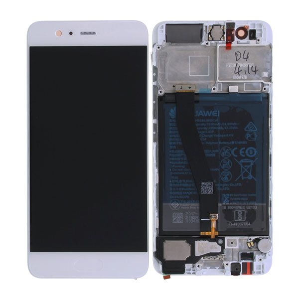 Genuine Huawei P10 LCD Display Plus Battery Premium Green | Part Number: 02351ENH | Delivered in EU UK and rest of the world |