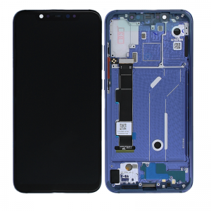 Genuine Xiaomi Mi 8 LCD Display Touch Screen Blue | Part Number: 561010006033| Delivered in EU UK and rest of the world |