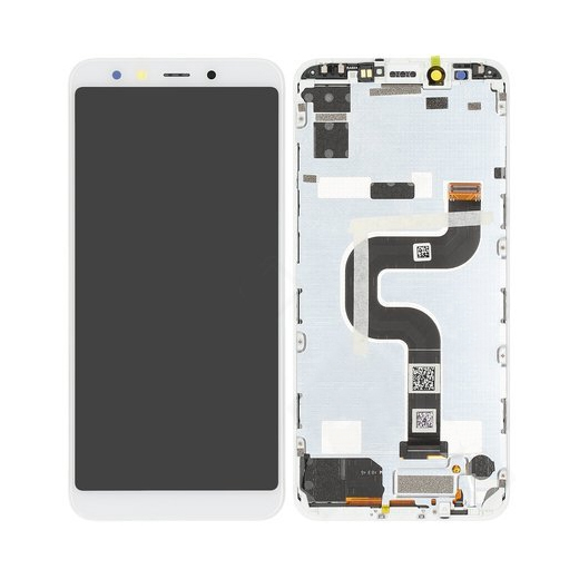 Genuine Xiaomi Mi A2 LCD Display Touch Screen White   Part Number : 5604100430B6   Delivered in EU UK and rest of the world  