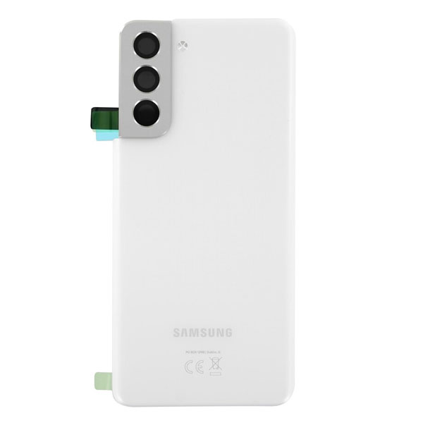 Genuine Samsung Galaxy S21 5G Battery Back Cover Phantom White | Part Number: GH82-24519C| Delivered in EU UK and rest of the world |