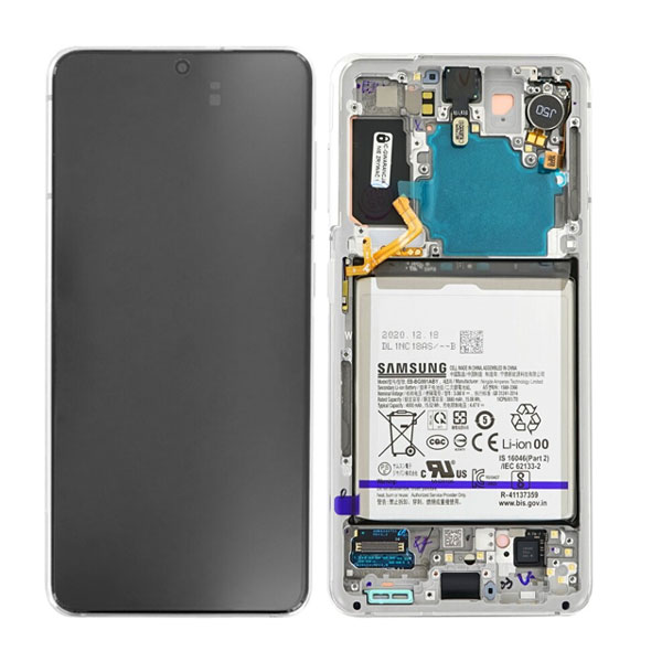 Genuine Samsung Galaxy S21 5G LCD Display Phantom White