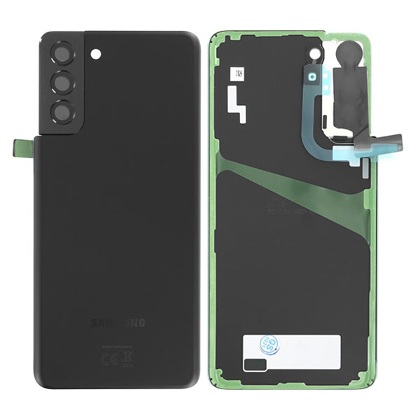 Genuine Samsung Galaxy S21 Plus 5G Battery Back Cover Phantom Black   Part Number: GH82-24505A  Delivered in EU UK and rest of the world  