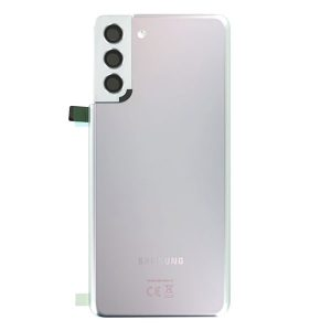 Genuine Samsung Galaxy S21 Plus 5G Battery Back Cover Phantom Silver | Part Number: GH82-24505C | Delivered in EU UK and rest of the world |