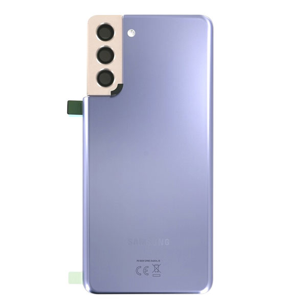 Genuine Samsung Galaxy S21 Plus 5G Battery Back Cover Phantom Violet | Part Number: GH82-24505B | Delivered in EU UK and rest of the world |