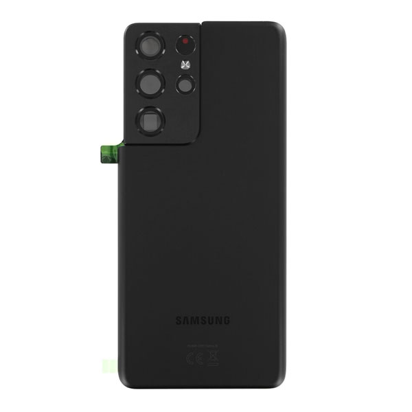 Genuine Samsung Galaxy S21 Ultra 5G Battery Back Cover Phantom Black | Part Number: GH82-24499A | Delivered in EU UK and rest of the world |