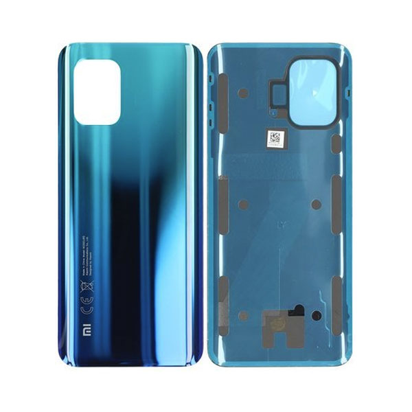 Genuine Xiaomi Mi 10 Lite Battery Back Cover Blue   Part Number: 550500008I1Q   Delivered in EU UK and rest of the world  
