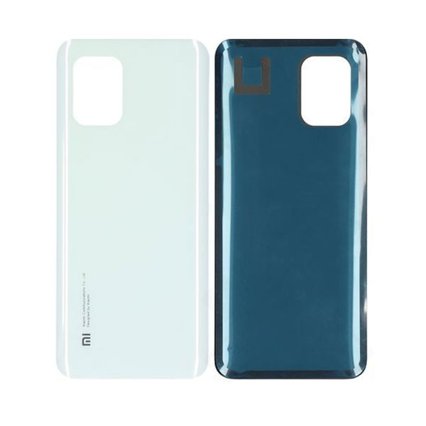 Genuine Xiaomi Mi 10 Lite Battery Back Cover White   Part Number: 55050000601Q   Delivered in EU UK and rest of the world  