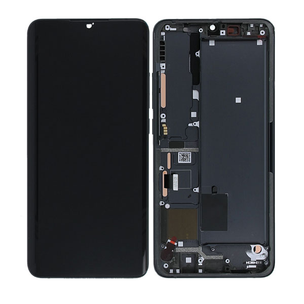 Genuine Xiaomi Note 10 Lite LCD Display Touch Screen Black | Part Number: 5600040F4L00 | Delivered in EU UK and rest of the world |