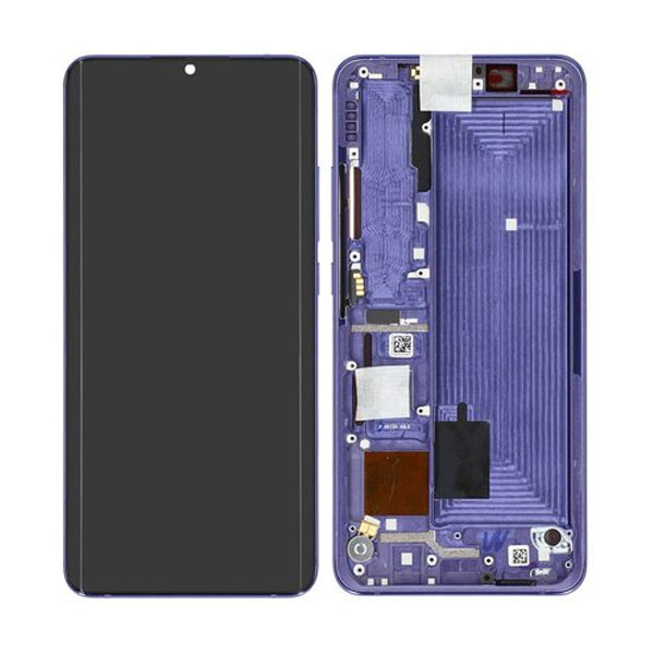 Genuine Xiaomi Note 10 Lite LCD Display Touch Screen Purple   Part Number: 5600020F4L00   Delivered in EU UK and rest of the world  