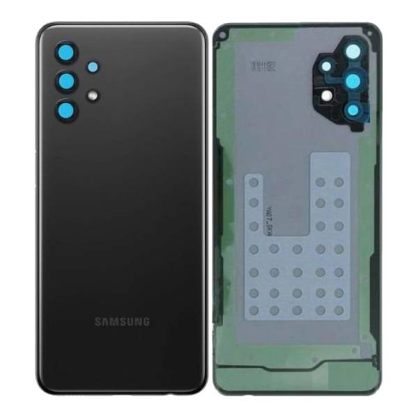 Genuine Samsung Galaxy A32 5G Battery Back Cover Black   Part Number: GH82-25080A   Delivered in Eu UK and rest of the world  