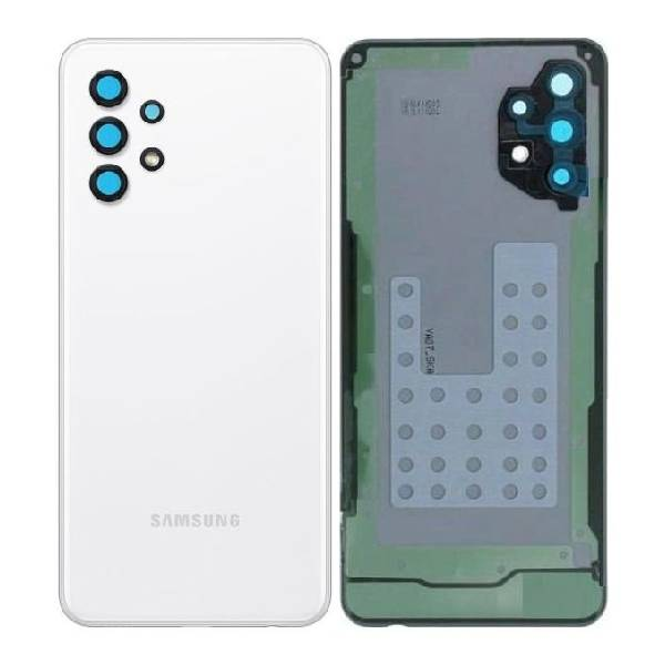 Genuine Samsung Galaxy A32 5G Battery Back Cover White   Part Number: GH82-25080B   Delivered in EU UK and rest of the world  