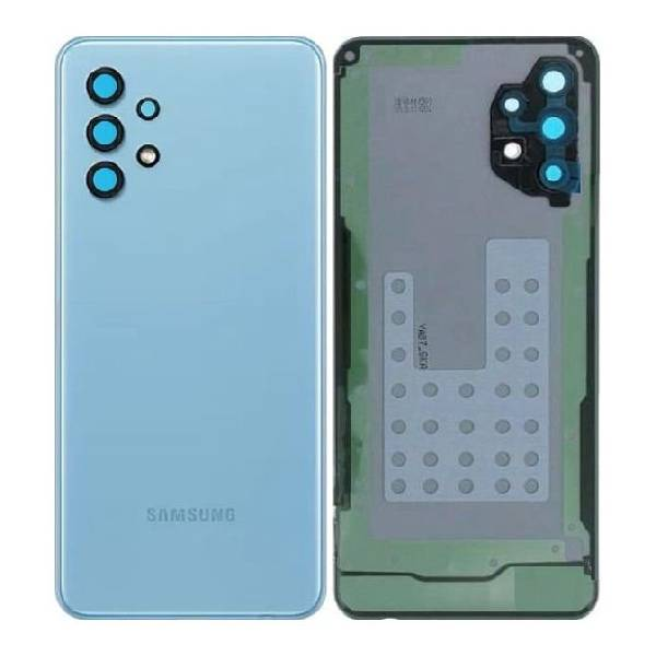 Genuine Samsung Galaxy A32 5G Battery Back Cover Blue | Part Number: GH82-25080C | Delivered in EU UK and rest of the world |