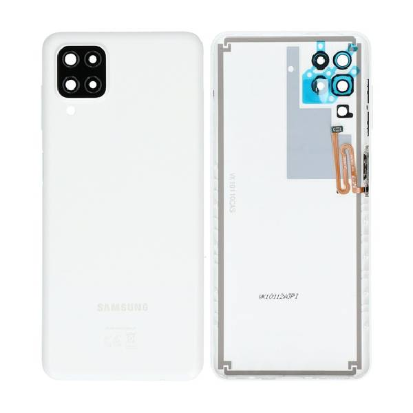 Genuine Samsung A125 A12 Battery Back Cover White   Part Number: GH82-24487B  Delivered in EU UK and rest of the world  