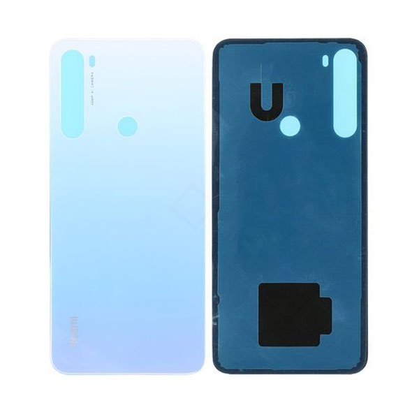 Genuine Redmi Note 8 Battery Back Cover White | Part Number: 550500001F6D | Delivered in EU UK and rest of the world |