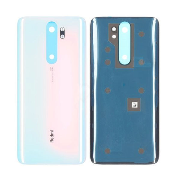 Genuine Redmi Note 8 Pro Battery Back Cover White   Part Number: 550500001U1L   Delivered in EU UK and rest of the world  