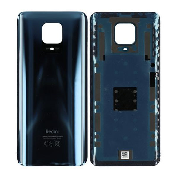 Genuine Redmi Note 9 Pro Battery Back Cover Black | Part Number: 55050000771Q | Delivered in EU UK and rest of the world |