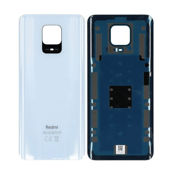 Genuine Redmi Note 9 Pro Battery Back Cover White | Part Number: 55050000751Q | Delivered in EU UK and rest of the world |