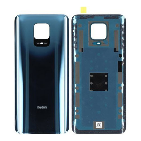 Genuine Redmi Note 9S Battery Back Cover Blue/Grey | Part Number: 550500003N1Q | Delivered in 3-5 working days |