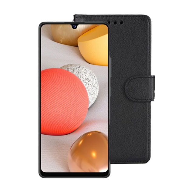 Wallet Flip Case for Samsung Galaxy A42 5G Black   Delivered in EU UK and rest of the world   Phoneparts Europe  