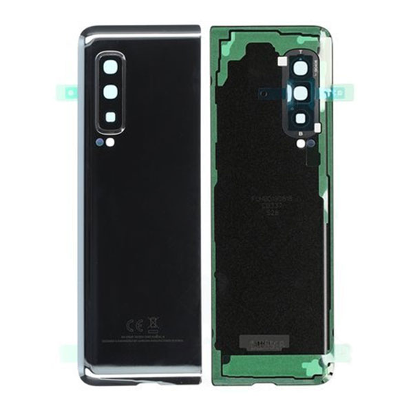 Genuine Samsung Galaxy F900 Fold Battery Back Cover Black   Part Number: GH82-19587B  Delivered in EU UK and rest of the world  