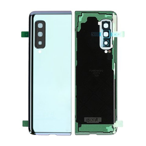 Genuine Samsung Galaxy F900 Fold Battery Back Cover Silver | Part Number: GH82-19587A| Delivered in EU UK and rest of the world |