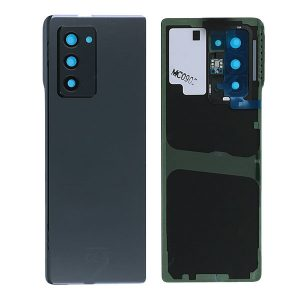 Genuine Samsung Galaxy Z Fold 2 5G Battery Back Cover Mystic Black | Part Number: GH82-23688A  | Delivered in EU UK and rest of the world |
