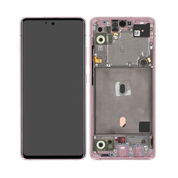 Genuine Samsung Galaxy A51 5G LCD Display Touch Screen Pink   Part Number: GH82-23100C   Delivered in EU UK and rest of the world  