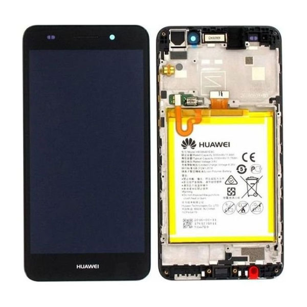 Genuine Huawei Y6 II Compact IPS LCD Display With Battery Black | Part Number: 02350VUG | Delivered in EU UK and rest of the world |