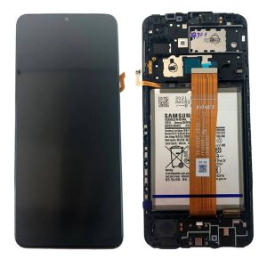 Genuine Samsung Galaxy A125 A12 PLS IPS Display With Battery   Part Number; GH82-24708A   Delivered in EU UK and rest of the world  