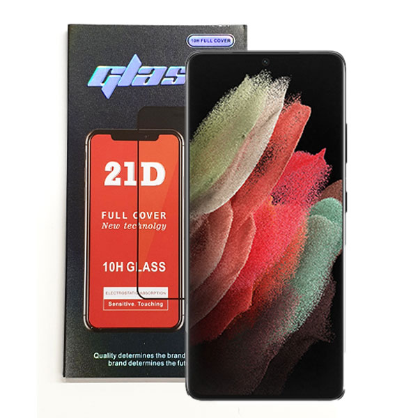 Samsung Galaxy S21 Ultra Full Glue Tempered Glass | Delivered in EU UK and rest of the world | Phoneparts |