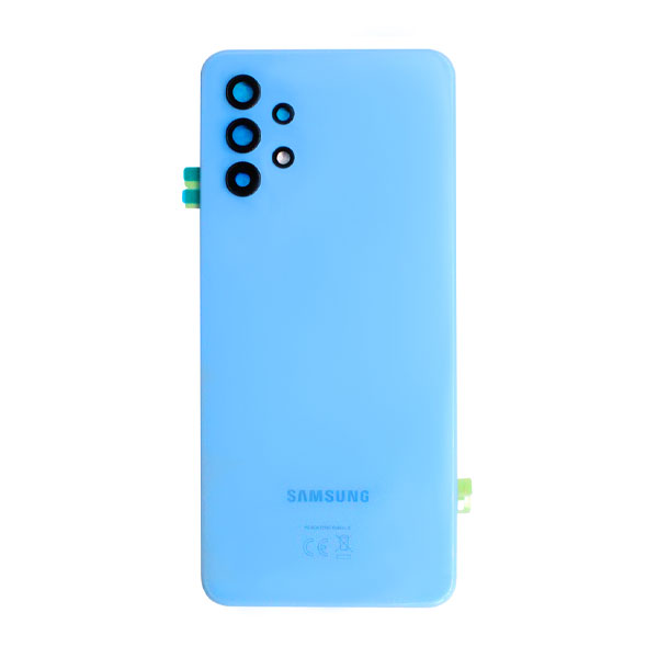 Genuine Samsung Galaxy A32 4G A325 Battery Back Cover Blue   Part Number: GH82-25545C   Delivered in EU UK and rest of the world  
